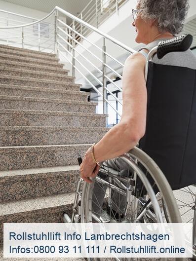 Rollstuhllift Beratung Lambrechtshagen