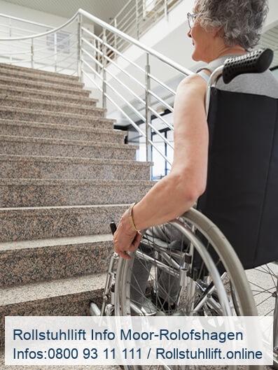 Rollstuhllift Beratung Moor-Rolofshagen