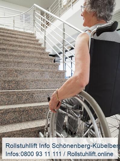 Rollstuhllift Beratung Schönenberg-Kübelberg